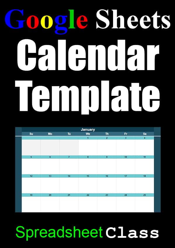 Google Sheets Calendar Templates Full Size And Miniature