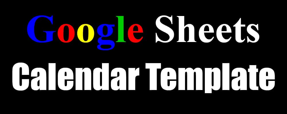 2021 2022 Automatic Calendar Templates Monthly Yearly For Google Sheets